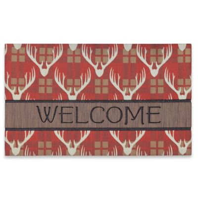 Mohawk Antler Blanket 18-inch x 30-inch Welcome Door Mat