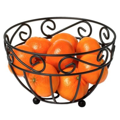 Spectrum™ Scroll Mini Fruit Bowl Counter Organization