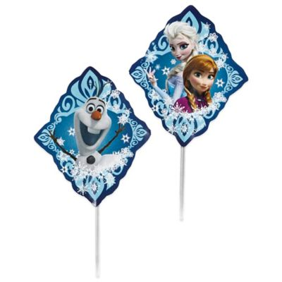 Wilton® Disney® Frozen 3-Inch Multicolor Fun Picks (Set of 24)