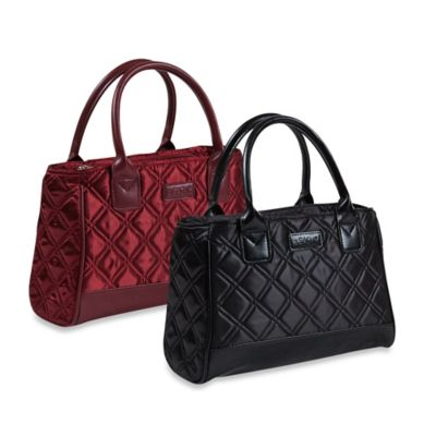 Sachi™ Quilted Insulated Lunch Tote in Burgundy