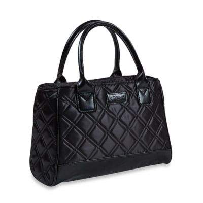 Sachi™ Quilted Insulated Lunch Tote in Black