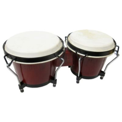 Kid-Sized Bongo Set