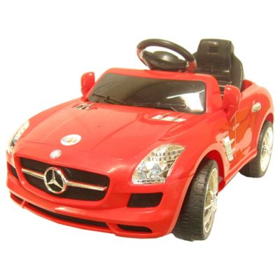 Mercedes Benz One-Seater 6-Volt Ride-On Sport Coupe
