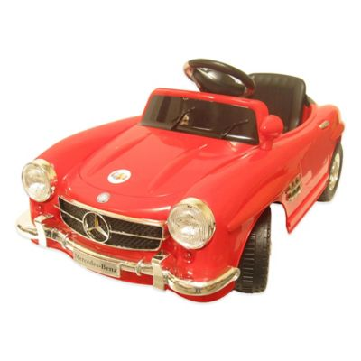 Mercedes Benz One-Seater 6-Volt Ride-On Classic Sedan