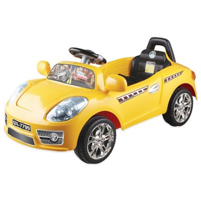 Yellow Canary Mini Sports Coupe Ride-On Toy