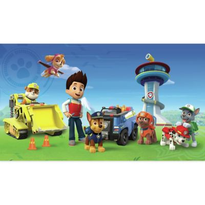 York Wallcoverings PAW Patrol XL Chair Rail Prepasted Mural