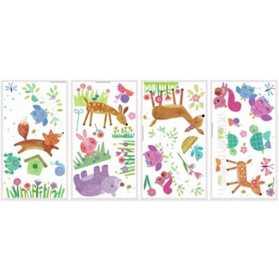 York Wallcoverings Woodland Baby Peel and Stick Wall Decals