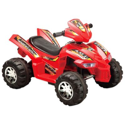 Quad Runner Battery-Controlled Ride-On Toy