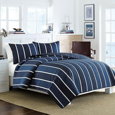 Nautica® Knots Bay Standard Pillow Sham in Navy