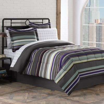 Fitted Sheet and Comforter Set
