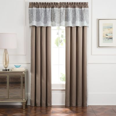 Torino 84-Inch Window Panel Pair in Ivory/Beige