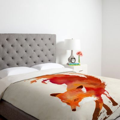 DENY Designs Robert Farkas Vulpes Queen Duvet Cover