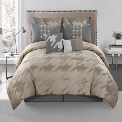 Miles 8-Piece California King Comforter Set