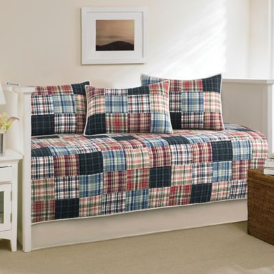 Nautica Red Blue Bedding