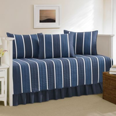 Nautica® Knots Bay Daybed Bedding Set in Navy