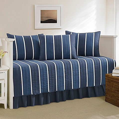 Nautica 174 Knots Bay Daybed Bedding Set In Navy Www