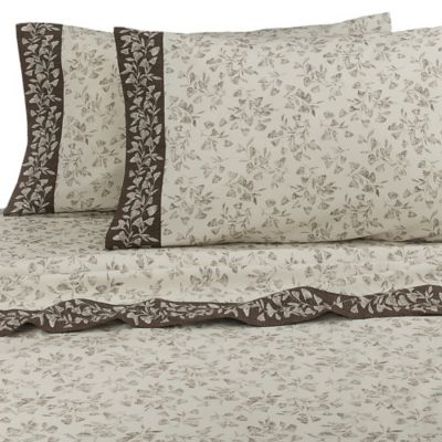Vicki Payne™ Toscana Queen Sheet Set in Brown