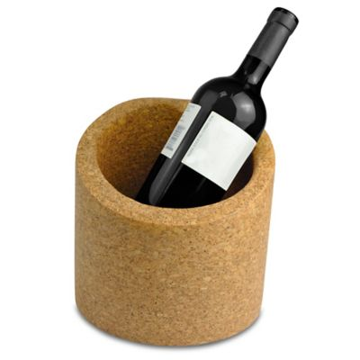 Large Slanted Cork Ice Bucket