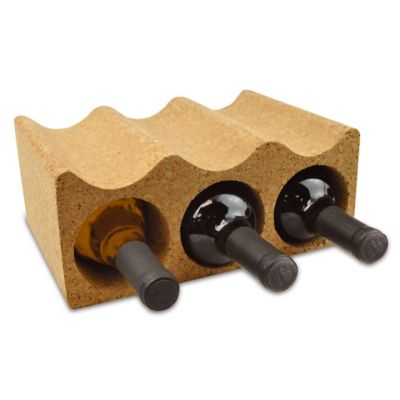 6-Bottle Cork Wine Holder