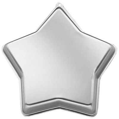 Wilton® 12.75-Inch Star Cake Pan in Silver