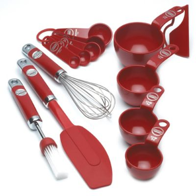 KitchenAid® 5-Piece Mixing Set in Red