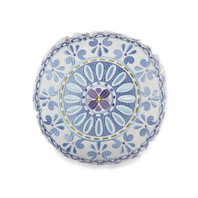 Dena™ Home Lilac Round Throw Pillow in Lilac