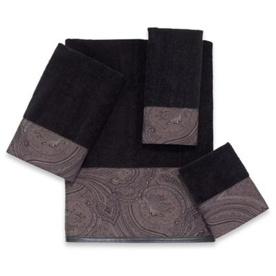 Avanti Black Bath Towel