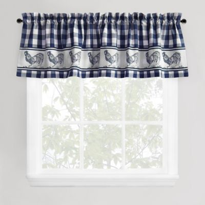 Paprika Window Valance