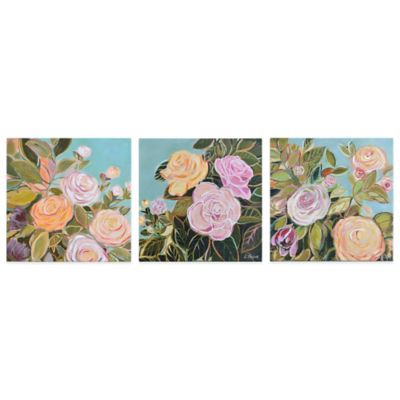 Ren-Wil Flora Grace Wall Art (Set of 3)