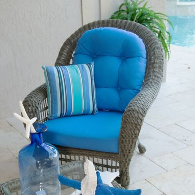 Panama Jack Carolina Beach Lounge Chair in Grey