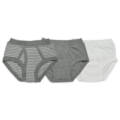 Burt's Bees Baby® Underbees Size 2T-3T 3-Pack Organic Cotton Briefs