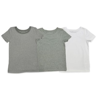 Burt's Bees Baby® Underbees Size 2T-3T 3-Pack Organic Cotton T-Shirts