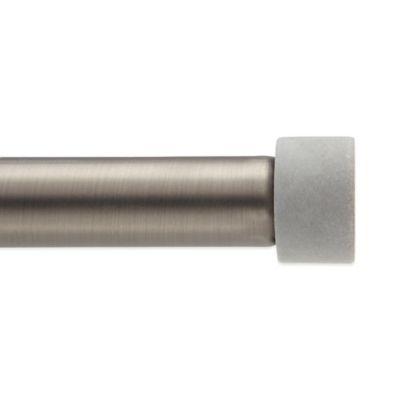 Umbra® Cappa Decorative Window Curtain Rod Finials in Concrete (Set of 2)
