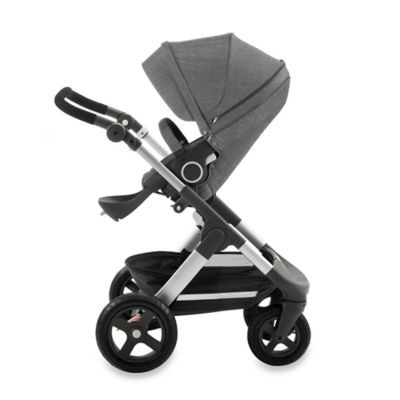 Stokke® Trailz™ Stroller in Black Melange