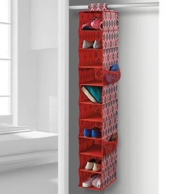 Studio 3B™ 10-Shelf Shoe Organizer in Black