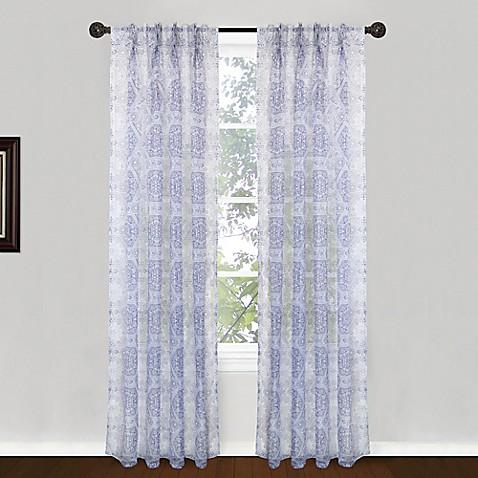 Park B Smith Venetian Tiles Pinch Pleat Window Curtain Panel Pair Bed Bath Beyond