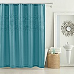 Anthology™ Scarlet 54-Inch x 78-Inch Stall Shower Curtain in Teal