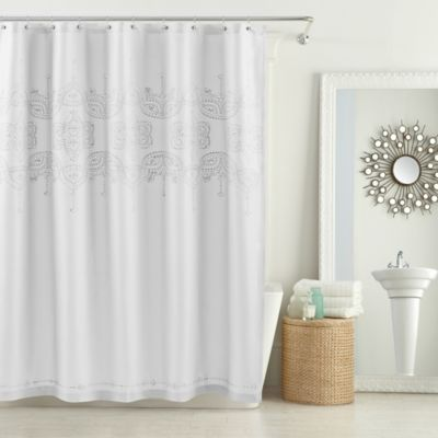 54 x 78 White Stall Shower