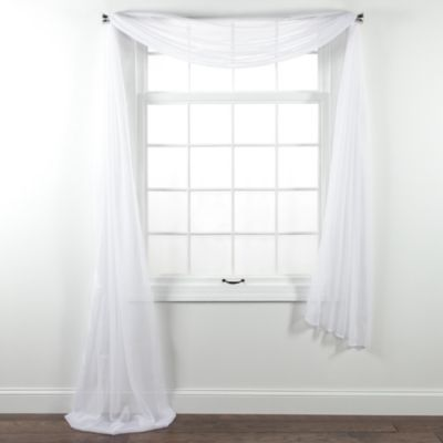 White Sheer Voile