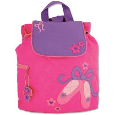 Stephen Joseph Ballet Quilted Backpack in Pink