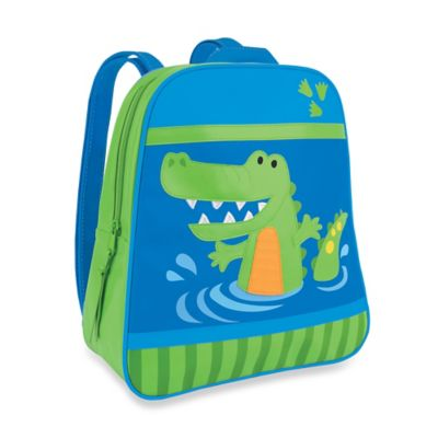 Stephen Joseph Alligator Go Go Backpack in Green/Blue