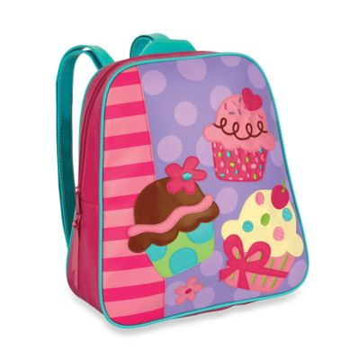 Stephen Joseph Cupcake Go Go Backpack in Pink/Purple