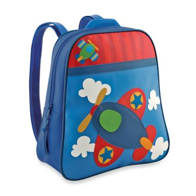 Stephen Joseph Airplane Go Go Backpack in Blue
