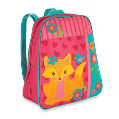 Stephen Joseph Fox Go Go Backpack in Pink