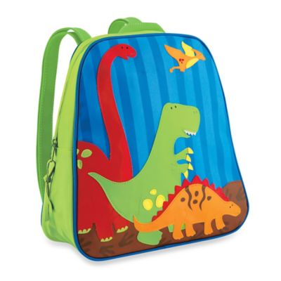 Stephen Joseph Dinosaur Go Go Backpack in Green/Blue