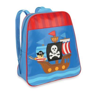 Stephen Joseph Pirate Go Go Backpack in Blue