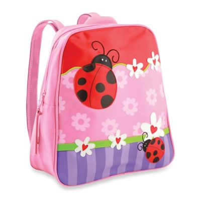 Stephen Joseph Ladybug Go Go Backpack in Pink