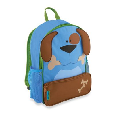 Dog Sidekick Backpack in Blue/Brown