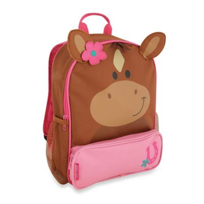 Horse Sidekick Backpack in Brown/Pink