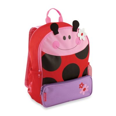 Stephen Joseph Ladybug Sidekick Backpack Travel Solutions
